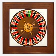 Roulette Framed Tile