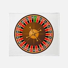 Roulette Throw Blanket