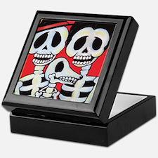 Cool Mexican sugar skulls Keepsake Box
