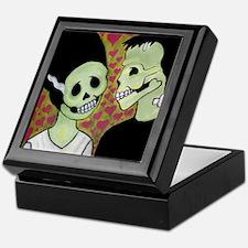 Unique Mexican sugar skulls Keepsake Box