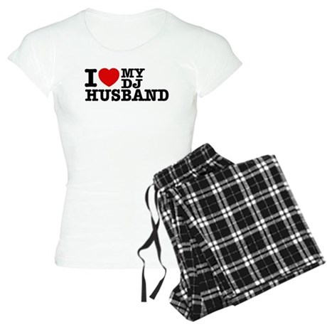 I love my Dj Husband Women's Light Pajamas
