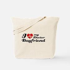 I love my Doctor Boyfriend Tote Bag