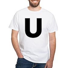 Letter U Shirt