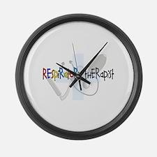 Respiratory Therapists XX Large Wall Clock