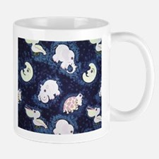 Elephant, Hippo, Turtle & Pelican Mug