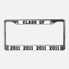 Class of 2011 License Plate Frame
