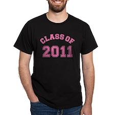 Pink Class of 2011 T-Shirt
