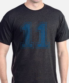 Blue Retro 11 T-Shirt