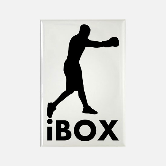 iBox Boxing Rectangle Magnet