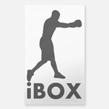 iBox Boxing Sticker (Rectangle)