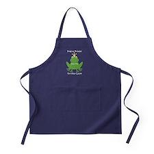 Freddie the Frog Apron (dark)