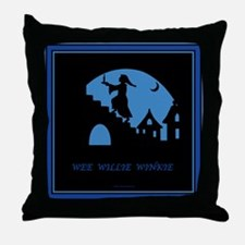 Wee Willie Winkie Throw Pillow