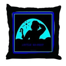 Bo Peep Throw Pillow