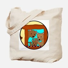 The Three Bears Tote Bag