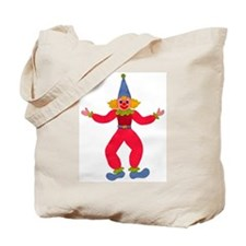 Circus Clown Tote Bag
