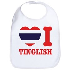 Heart (Love) I Tinglish Bib