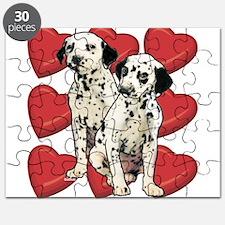 Dalmatian Puppy Love Puzzle