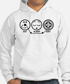 Eat Sleep Edit Hoodie