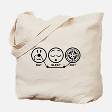 Eat Sleep Edit Tote Bag