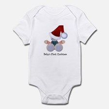 Customizable Teddy Santa Infant Bodysuit