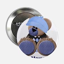 """Customizable Boy Bear 2.25"""" Button"""