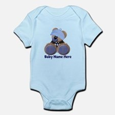 Customizable Boy Bear Infant Bodysuit