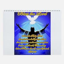 Jesus Baptism Wall Calendar