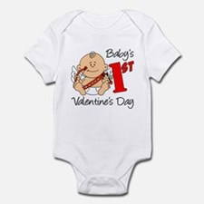 Baby's First Valentines Day Infant Bodysuit