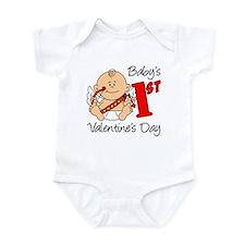 Baby's First Valentines Day Onesie