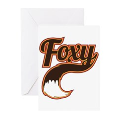 Foxy Greeting Cards (Pk of 20)