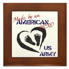 Made by American Hero - Army Framed Tile