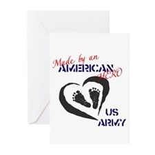 Made by American Hero - Army Greeting Cards (Pk of