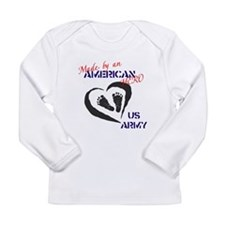 Made by American Hero - Army Long Sleeve Infant T-