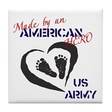 Made by American Hero - Army Tile Coaster