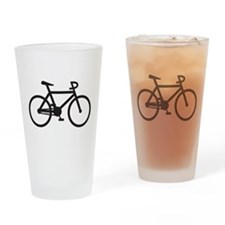 Klaar Bike Gear Drinking Glass