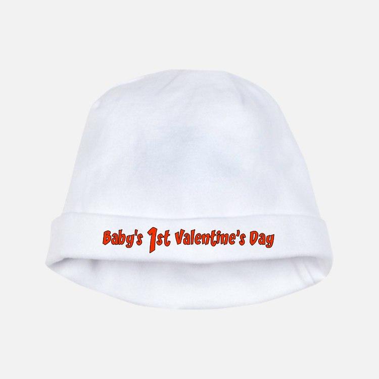 Baby's 1st Valentines Day baby hat