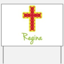 Regina Bubble Cross Yard Sign