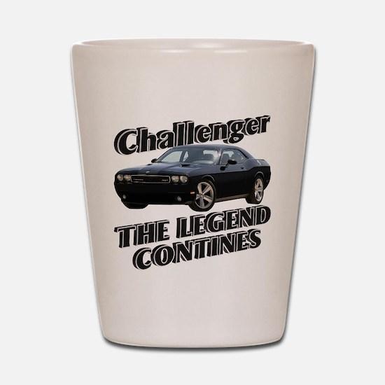 Challenger Shot Glass