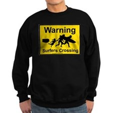Surfers Crossing Sweatshirt