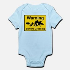 Surfers Crossing Infant Bodysuit