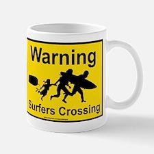 Surfers Crossing Mug