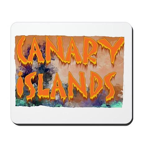 canary islands Mousepad