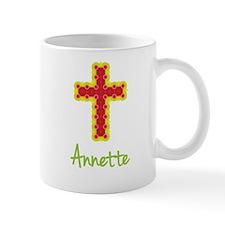 Annette Bubble Cross Mug