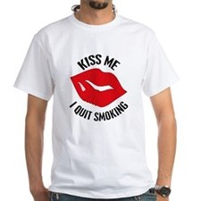 Kiss Me I Quit Smoking Shirt