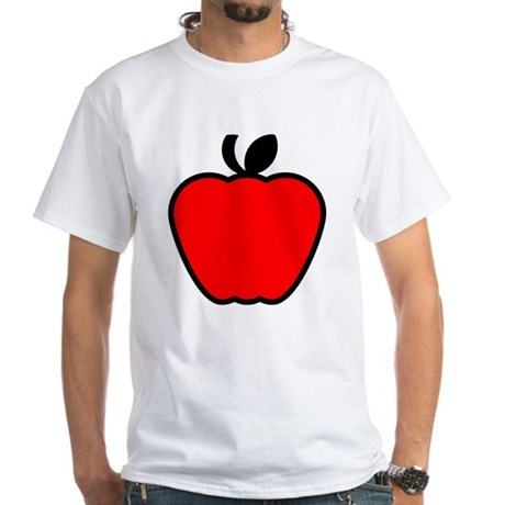 Apple.png White T-Shirt