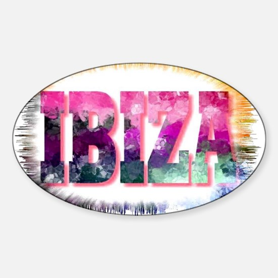 ibiza Sticker (Oval)