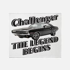 Challenger Throw Blanket