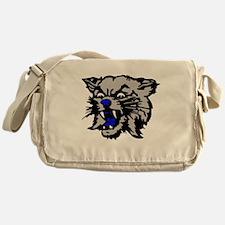 Cat Head Messenger Bag
