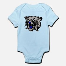 Cat Head Infant Bodysuit