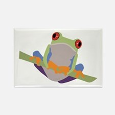 Tree Frog Rectangle Magnet